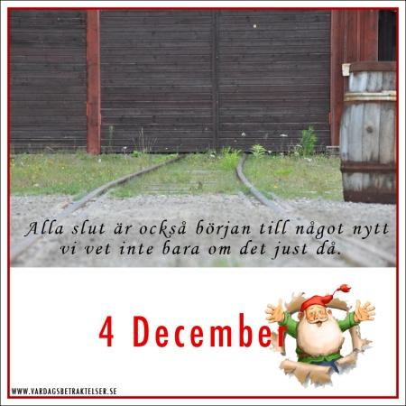 Dagens lucka – 4 december